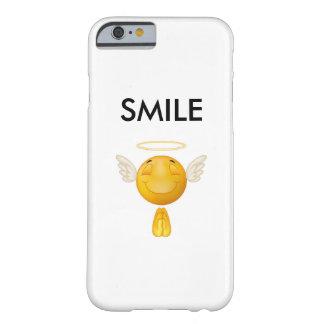 Ángel de la sonrisa funda para iPhone 6 barely there