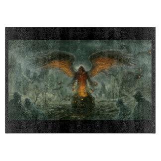 Ángel de la tabla de cortar de la muerte