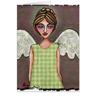 Ángel de la tolerancia - tarjeta de felicitación