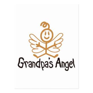 Ángel de los abuelos postal