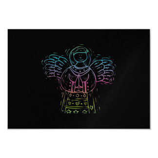 Ángel de rogación en colores pastel anuncio personalizado