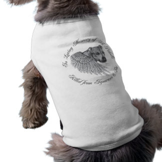 Ángel de Zeus Camiseta Sin Mangas Para Perro