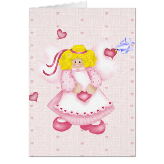 Ángel del amor tarjeta