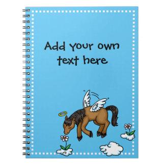 Ángel del caballo cuadernos