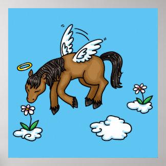 Ángel del caballo póster