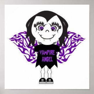 Ángel del vampiro poster