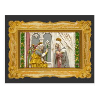 Ángel Gabriel el anuncio a Maria Postal