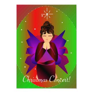 Ángel I del navidad Invitación 12,7 X 17,8 Cm