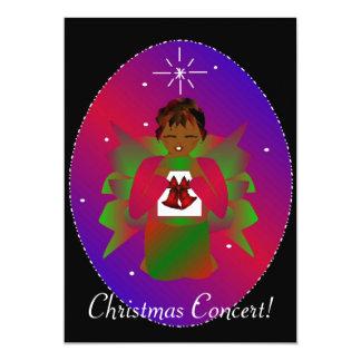 Ángel II del navidad Invitación 12,7 X 17,8 Cm