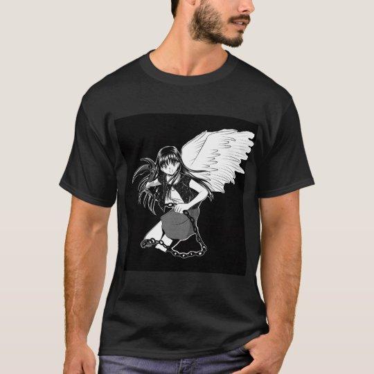Ángel puesto a tierra: Doble negro Camiseta