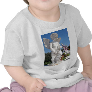 Angel Statue In White Tshirt