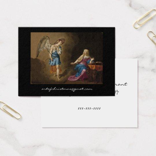 Ángel y Maria del anuncio Tarjeta De Visita