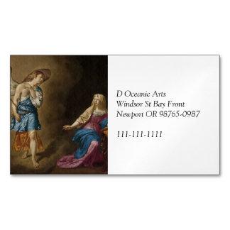Ángel y Maria del anuncio Tarjetas De Visita Magnéticas