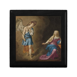Ángel y Virgen María del anuncio Joyero
