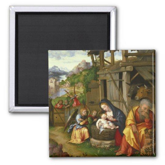 Ángeles c1515 de la natividad y del niño imán