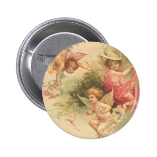 ángeles del vintage chapa redonda 5 cm