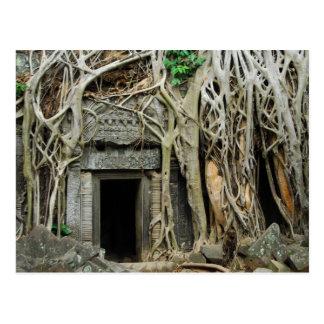 angkor de los templos postal