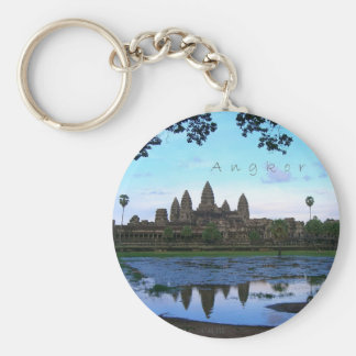 Angkor Wat 01 Llavero Redondo Tipo Chapa