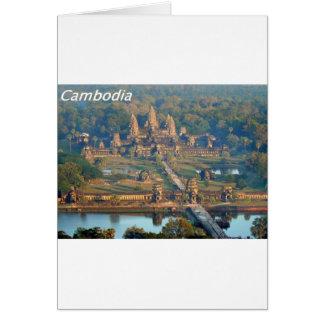 - Angkor-WAT-Angie. Tarjeta De Felicitación
