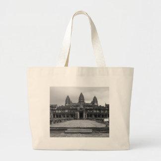 Angkor Wat B&W Bolsa De Mano