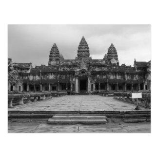 Angkor Wat B&W Postal