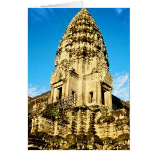 Angkor Wat Camboya Tarjeta De Felicitación