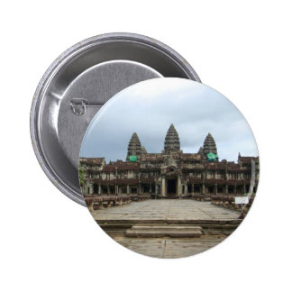 Angkor Wat Chapa Redonda De 5 Cm