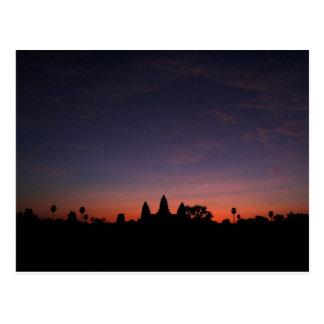 Angkor Wat en la salida del sol (postal) Postal