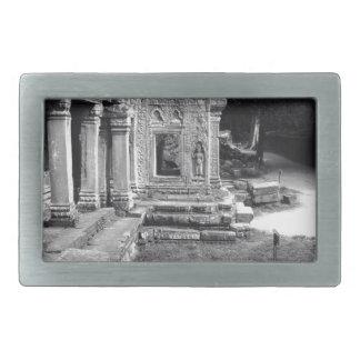 Angkor Wat Hebillas Cinturon Rectangulares
