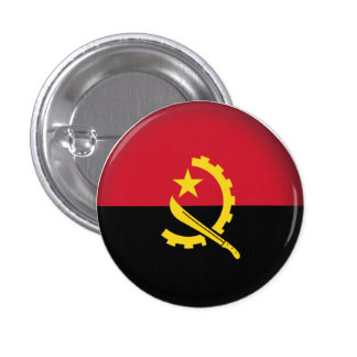 Angola redonda chapa redonda de 2,5 cm