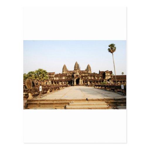 Angor Wat Tarjeta Postal