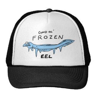 anguila congelada gorro