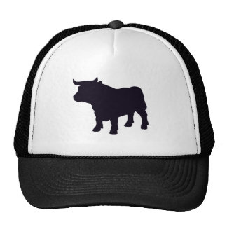Angus el toro gorros bordados