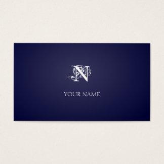 Añil de Nouveau Tarjeta De Negocios