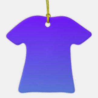 Añil eléctrico a la pendiente azul de H'l del Corn Ornamento De Reyes Magos
