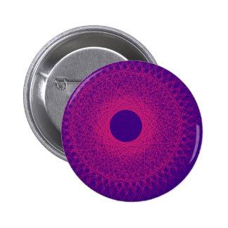 añil y arte abstracto violeta pins