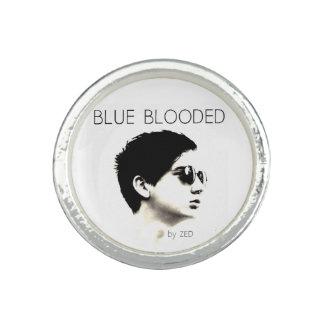 Anillo azul de Blooded