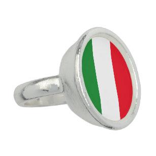 Anillo Bandera de Italia