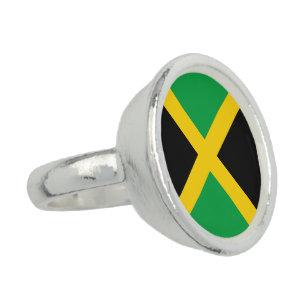 Anillo Bandera de Jamaica
