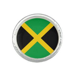 Anillo Bandera de Jamaica patriótica