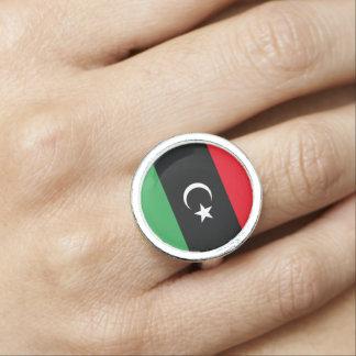 Anillo Bandera de Libia