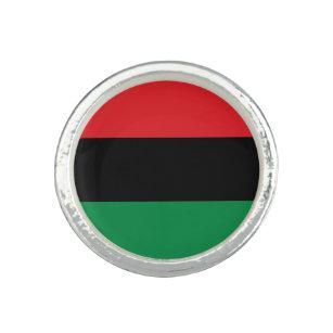 Anillo Bandera panafricana de la UNIA