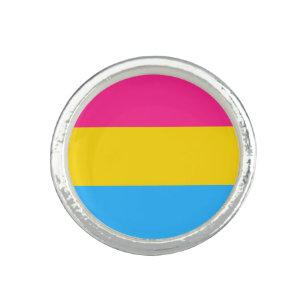 Anillo de la bandera de Pansexuality