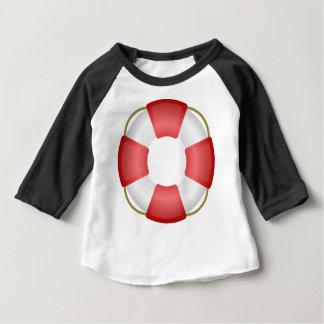 Anillo de la salvación camiseta de bebé