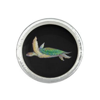 anillo de la tortuga de mar