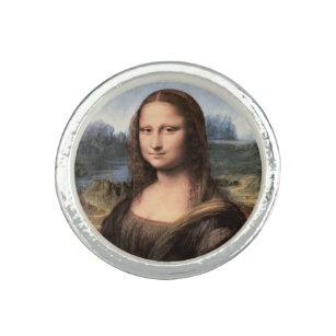 Anillo Retrato/pintura de Mona Lisa
