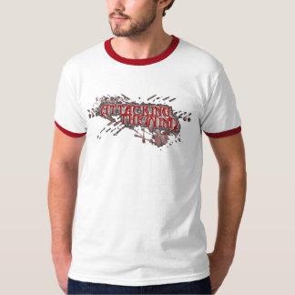 Anillo rojo que ataca la camisa de la mente