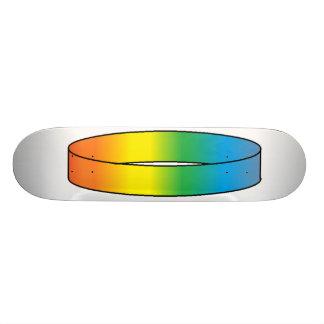 Anillo Skatedeck del arco iris Monopatín 20 Cm