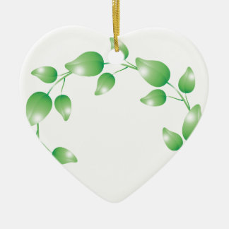 Anillo verde de la guirnalda de la hoja ornamente de reyes