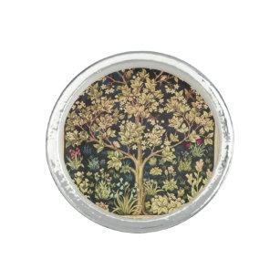 Anillo William Morris Árbol De La Vida